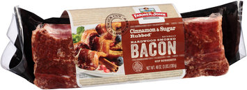 Farmer John® Cinnamon & Sugar Rubbed Bacon 48 oz. Pack