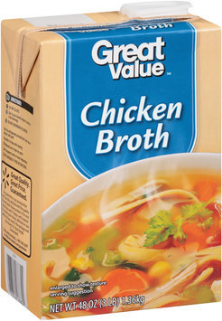 Great Value™ Chicken Broth 48 oz. Aseptic Carton