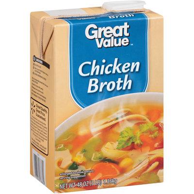 Great Value™ Chicken Broth 48 oz. Aseptic Carton