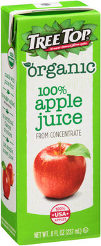 Tree Top® Organic 100% Apple Juice 8 fl. oz. Aseptic Pack