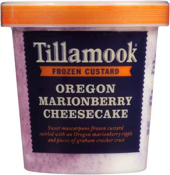 Tillamook® Oregon Marionberry Cheesecake Frozen Custard 15.5 fl oz. Tub