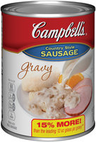 Campbell's® Country Style Sausage Gravy