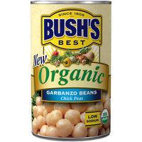 Bush's® Organic Garbanzo Beans Chick Peas 15 oz. Can