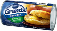 Pillsbury Grands!® Homestyle Reduced Fat Buttermilk Biscuits 8 ct Can