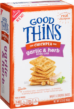 Good Thins Garlic & Herb Chickpea Snacks