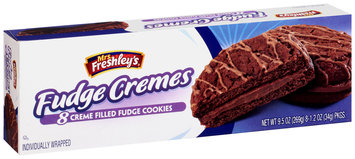 Mrs. Freshley's® Creme Filled Fudge Cremes Cookies 8-1.2 oz. Packs
