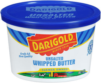 Darigol® Unsalted Whipped Butter 8 oz tub