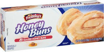 Mrs. Freshley's® Glazed Honey Buns 6-1.75 oz. Wrapper