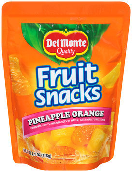 Del Monte® Quality Pineapple Orange Fruit Snacks