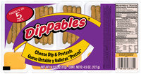 Dippables® Cheese Dip & Pretzels 5-.92 oz. Packs