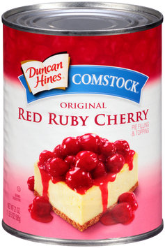 Duncan HInes® Comstock® Red Ruby Cherry Pie Filling 21 oz. Can