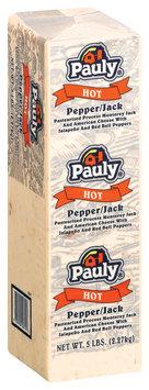 Pauly Pepper/Jack Hot Cheese 5 Lb Brick