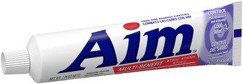 Aim™ Multi-Benefit Tartar Control Cool Mint Gel Toothpaste 5.5 oz. Box