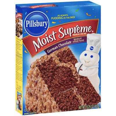 Pillsbury® Moist Supreme® German Chocolate Cake Mix 15.25 oz. Box