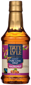 Tate + Lyle® Hazelnut Pure Cane Syrup 12.7 fl. oz. Bottle