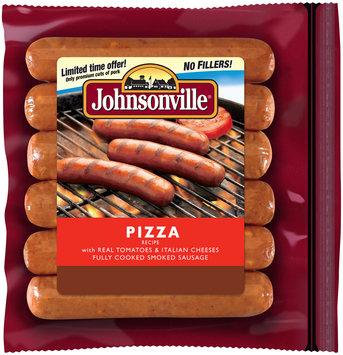 Johnsonville Pizza Smoked Sausage 14oz zip pkg (101152)