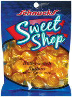 Schnucks Sweet Shop Butterscotch Buttons 6.25 Oz Peg