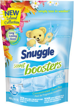 Snuggle Scent Boosters® Island Dreams™ 20 Loads Concentrated Scent Pacs 14.1 oz. Bag