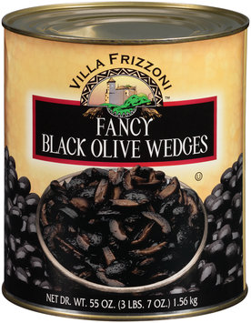 Villa Frizzoni­™ Fancy Black Olive Wedges 55 oz. Can