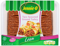 Jennie-O® Lean Taco Seasoned Ground Turkey 16 oz. Tray