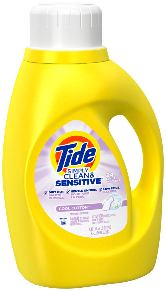 Tide Simply Clean & Sensitive HE Liquid Laundry Detergent