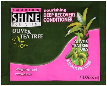 Smooth 'n Shine Polishing Olive & Tea Tree RevivOil Nourishing Deep Recovery Conditioner 1.7 fl. oz. Pouch