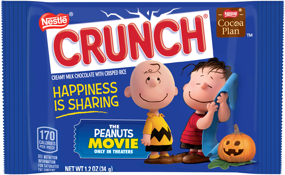 Nestlé CRUNCH Breakable Halloween Medallion