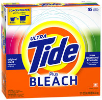 Tide Ultra Plus Bleach Alternative Original Scent Powder Laundry Detergent 171 oz. Box