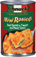 Schnucks Mini Ravioli 15 oz Can