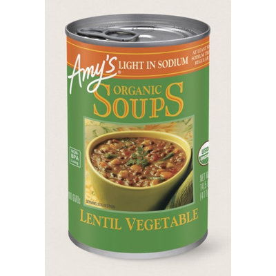 Amy's Kitchen Organic Lentil Vegetable Soup, Light In Sodium