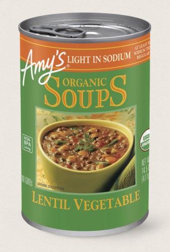 Amys Kitchen Organic Lentil Vegetable Soup Light In Sodium Reviews