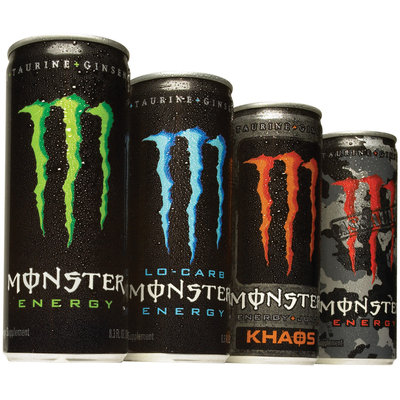 Monster Family of Cans Family Shot Energy Drink