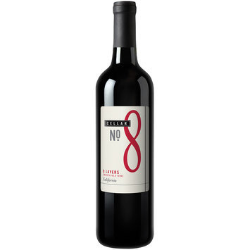 Cellar No. 8 8 Layers California Smooth Red Wine 750mL Glass Bottle