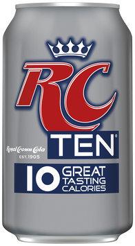 RC® TEN® Cola 4-12 fl. oz. Cans