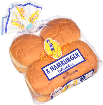 Evangeline Maid® Hamburger Enriched Buns 8 ct Bag