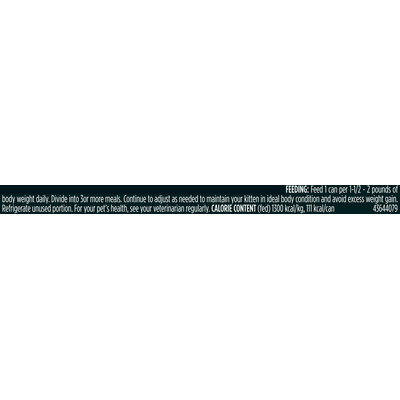 Purina Pro Plan Focus Kitten Ocean Whitefish & Tuna Entree Flaked Cat Food 3 oz. Pull-Top Can