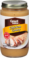 Great Value™ Chicken Gravy 12 oz. Jar