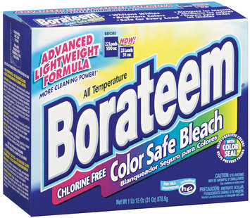 BORATEEM All Temperature Chlorine Free Powder Color Safe Bleach