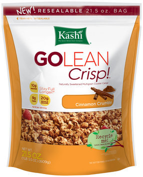 Kashi® GOLEAN Crisp!™ Cinnamon Crumble Cereal 21.5 oz. Bag