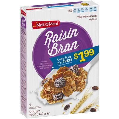 Malt-O-Meal® Raisin Bran Cereal 16 oz. Box