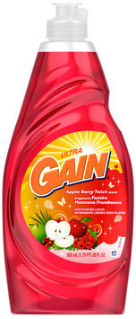 Gain® Ultra Apple Berry Twist Dishwashing Liquid 28 fl. oz. Plastic Bottle