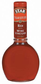 Star Red Italian Kitchen Wine Vinegar 12 Oz Glass Bottle
