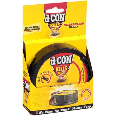 d-Con® No View, No Touch™ Mouse Traps 1 ct. Box