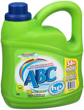 ABC™ Crisp Morning Air Liquid Detergent 3.96L Jug