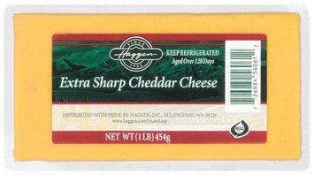 Haggen Extra Sharp Cheddar Cheese 1 Lb