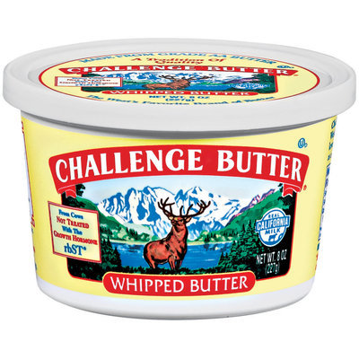 Challenge Whipped Butter 8 Oz Tub
