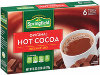 Springfield® Instant Mix Original Hot Cocoa 6-1 oz. Pouches