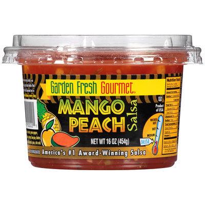 Garden Fresh Gourmet® Mango Peach Salsa 16 oz. Plastic Tub