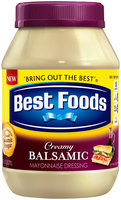 Best Foods® Creamy Balsamic Mayonnaise Dressing 30 fl. oz. Jar