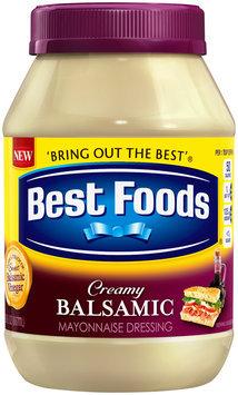 Best Foods® Creamy Balsamic Mayonnaise Dressing 30 fl. oz. Jar